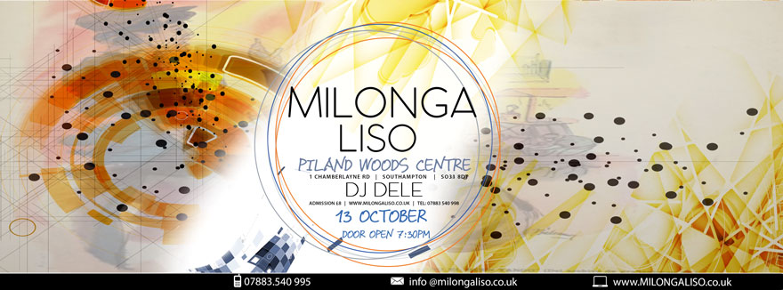 Milongaliso at Pilands, Thursday, Oct 13th